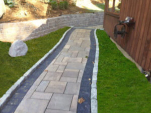 Another stone walkway